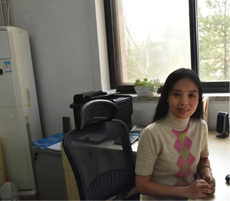 中国农业大学招生办公室副主任柏菲放松工作和休息的结合以及良好的态度是成功的关键