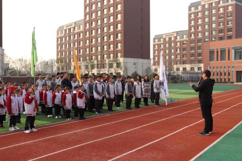 我运动 我健康 我快乐——天津为明国际学校冬季长跑启动仪式